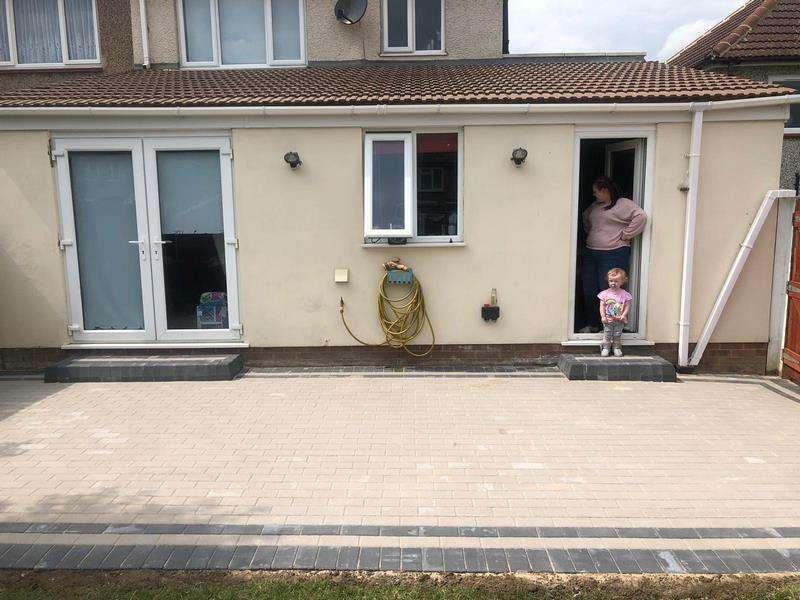 Patio Design in Cork - Block Paving - Civil Construction ...